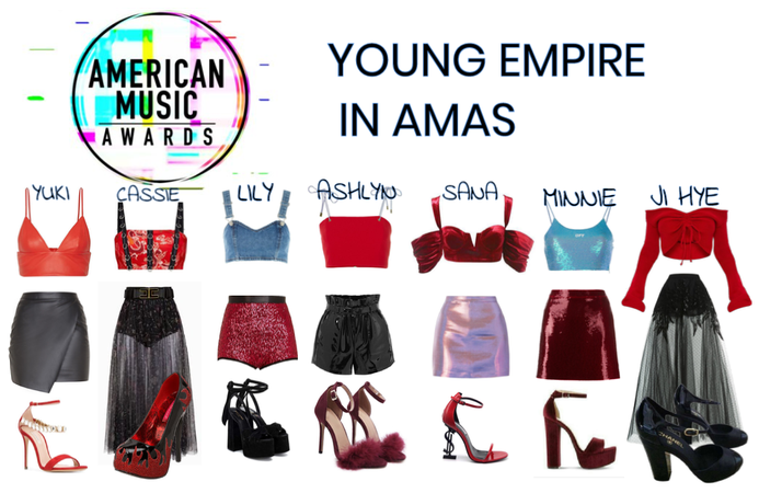 YOUNG EMPIRE AMA outfit