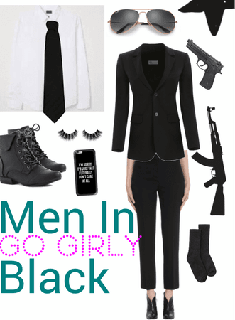 The Girl in Black style