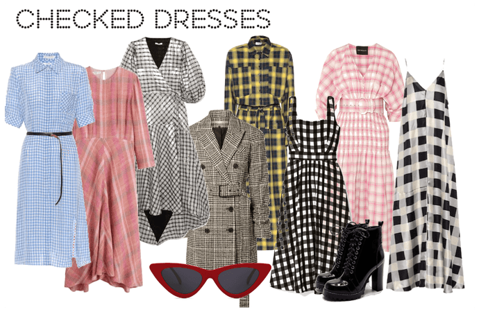 Checked Dresses