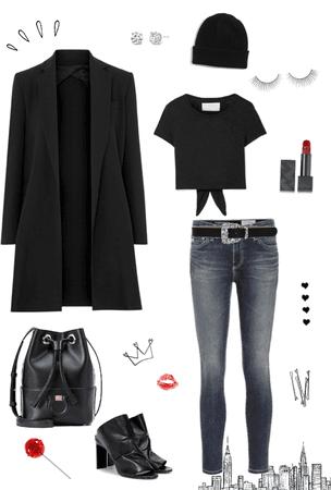 NYC dress code 🕶