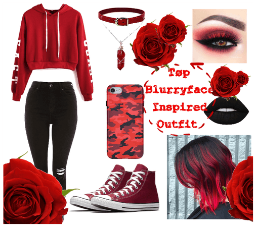 Tøp Blurryface Inspired Outfit