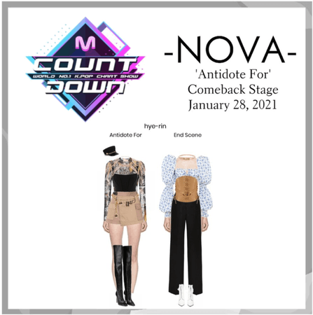 -NOVA- Antidote For   M Countdown Stage