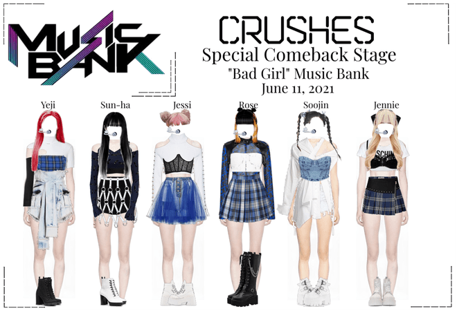 """Crushes (호감) """"Bad Girl"""" Special Comeback Stage"""
