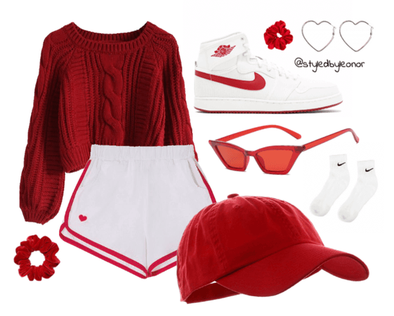 Sporty Chic in Red