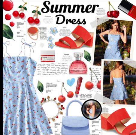 Topshops Cherry summer dress