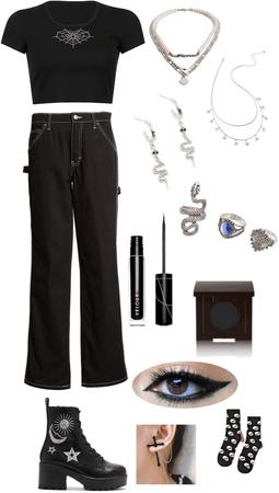 Casual Goth