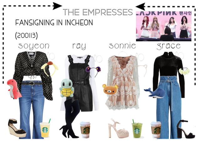 [THE EMPRESSES] FANSIGN IN INCHEON