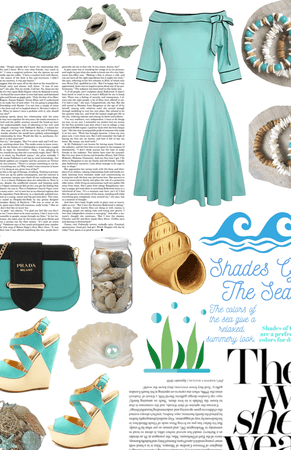 shades of the sea @looksbylyla challenge
