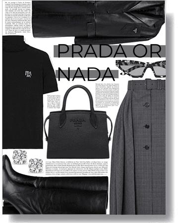 Prada or Nada 🖤