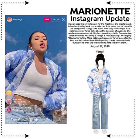 MARIONETTE (마리오네트) [YANGJI] Instagram Live