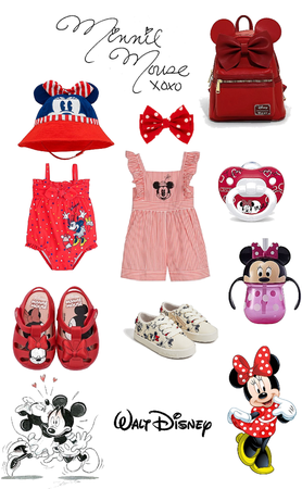 Minnie Mouse Baby 🍼❤️🐭🎀