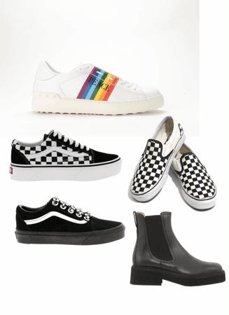 Macy's shoe wardrobe