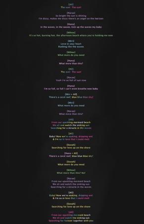 CANDY - Mermaid Lyrics (English Translation)