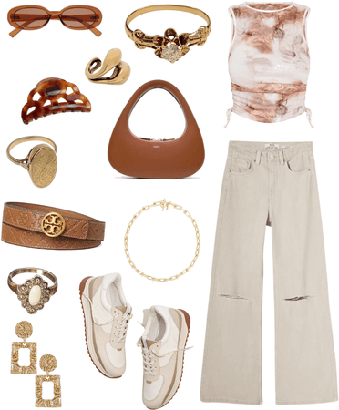 Brown and beige day out