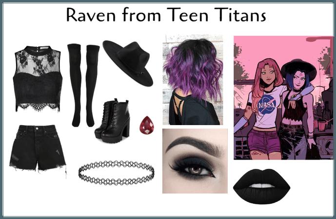Raven Inspired Costume