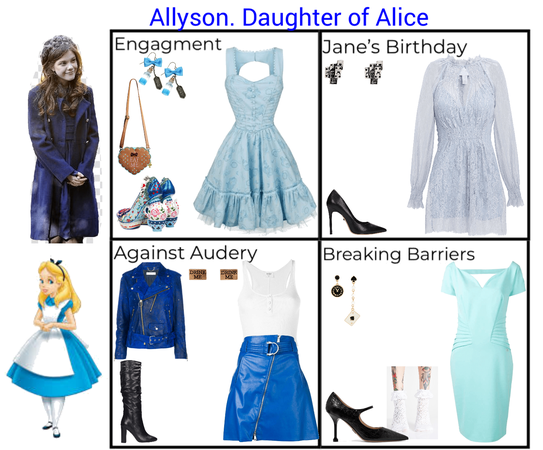 Allyson. Daughter of Alice. Descendants 3