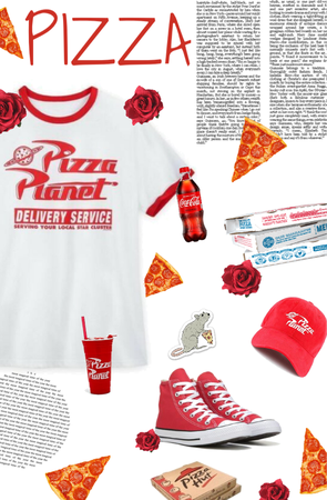 Pizza Inspiration Outfit