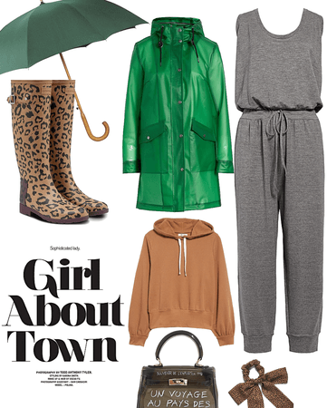 about town