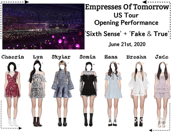 EOT(내일의 황후) | US Tour: LA Opening Performance