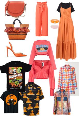 orange items