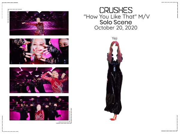 """Crushes (호감) """"How You Like That"""" Music Video"""