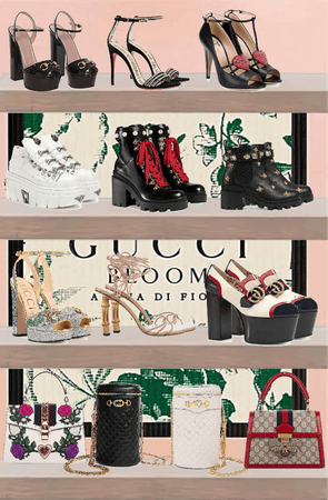 Gucci shoes and bags