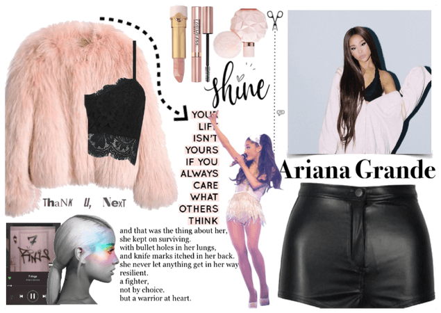 Ariana Grande @aafashion contest