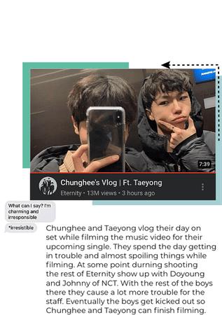 Chunghee's vlog ft Taeyong