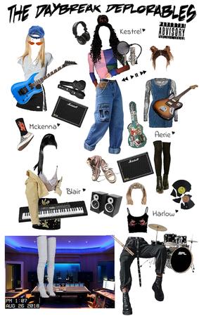 Fictional Girl Band