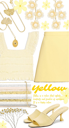 yellow in summer