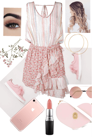 Sweet Pink Ruffles