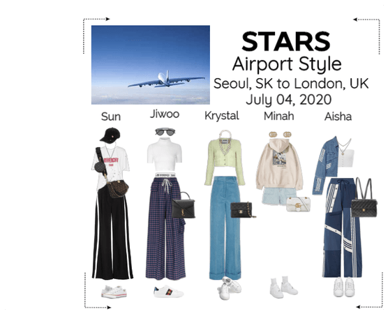 STARS | Airport Style Seoul to London | 200704