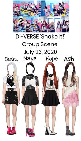 DI-VERSE 'Shake It!' MV Group Scene