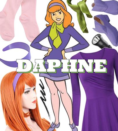 FALL 2021: Halloween Costume (Daphne)