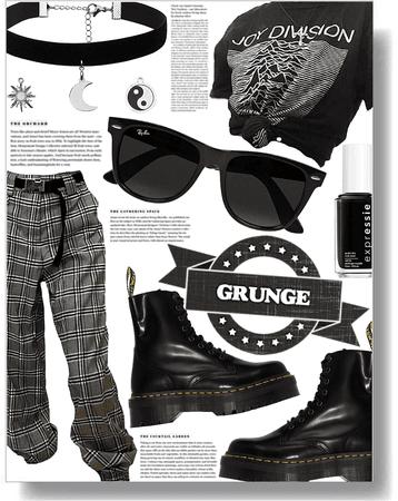 back2school: grunge style 🖤