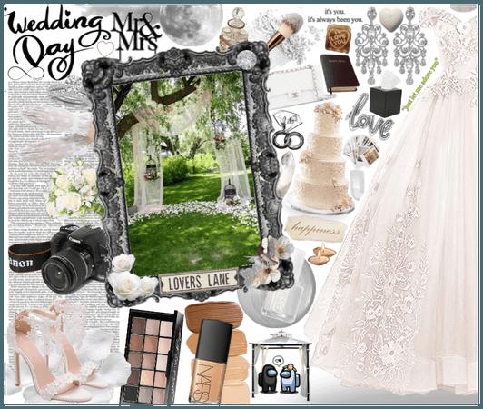 #Wedding #Wedding-Day-Challenge #White