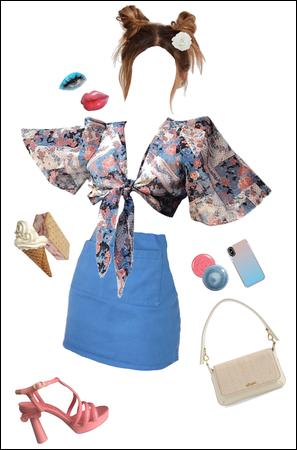 Pink & Blue Summer