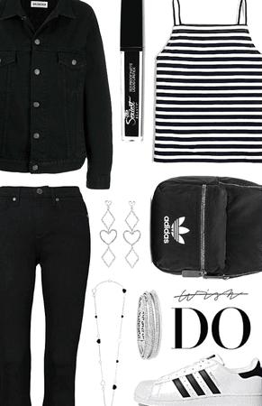 denim and stripes