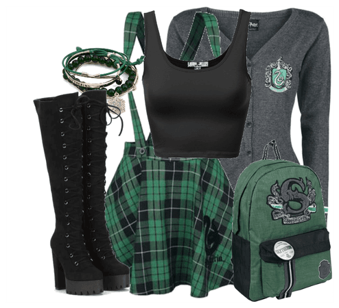 Slytherin School's Back From Summer