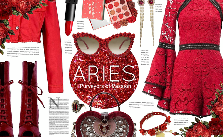 Here's To My Birthday | A Perfect Aries Look