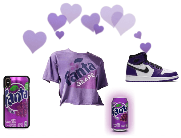 Purple Fanta