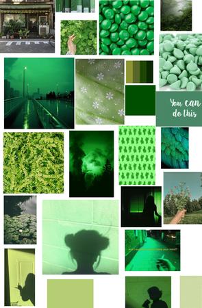 CUTE GREEN THINGY MAGIGY