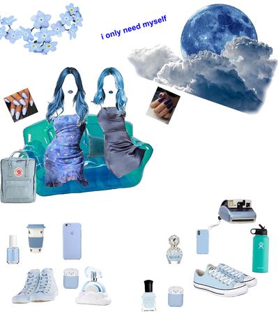 ?eulB n'leeF ( Feel'n Blue?)😢🤣💙?