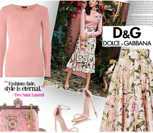 D&G- Dolce And Gabbana Spring Style
