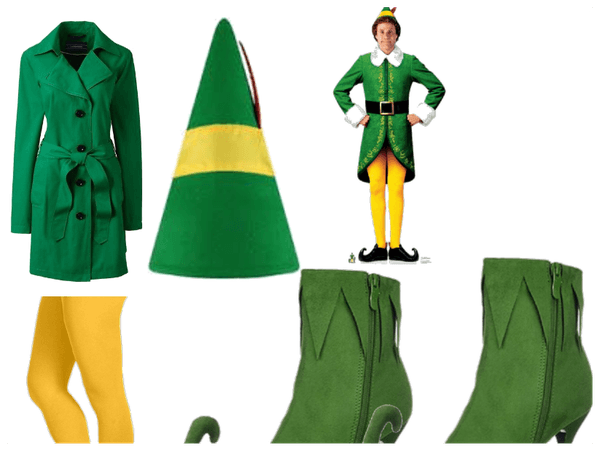 buddy the elf inspired look