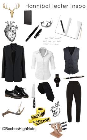Hannibal Lecter outfit inspiration