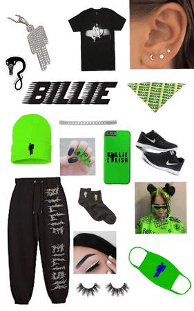 cool billie eilish outfit