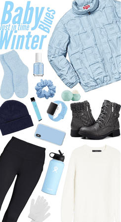 winter baby blue
