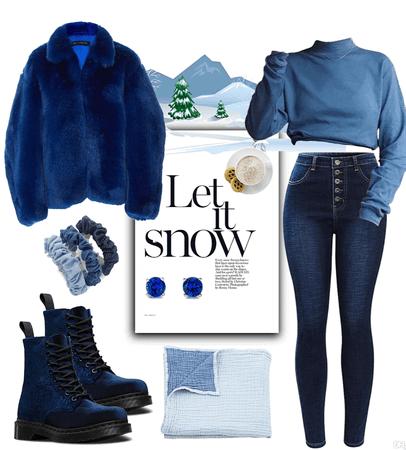 Winter Cabin Blues