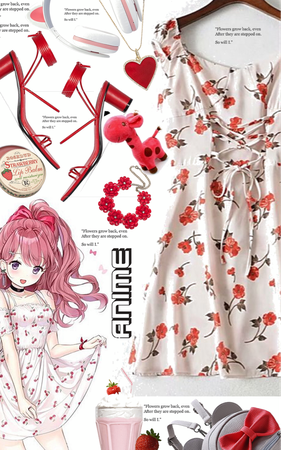 anime red